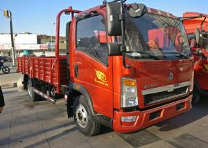 China 6 Meters 7 Ton Light Duty Commercial Trucks Sinotruk HOWO For General Transportation on sale