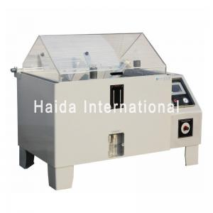 China LCD Touch Screen Salt Spray Test Chamber , 108L 270L Salt Spray Corrosion Test Chamber on sale