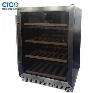 China CICO 46-52bottles Compressor Wine Coolers single temperature on sale