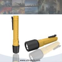 LED Rechargeable Emergency UL Explosion Proof Torch Lighting, Flame Proof Torches lighting