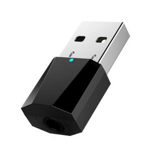 China USB Bluetooth Music Receiver Car 3.5mm Audio Adapter for Amplifier Speaker on sale