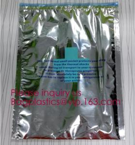 China Medical thermal pocket, health foil thermal pack, pharmacisf,medical insulation bags,foil thermal insulated storage cool on sale