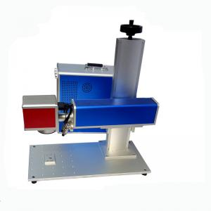 China Mini Metal Laser Engraving Machine Minimum Character 0.15mm Language on sale