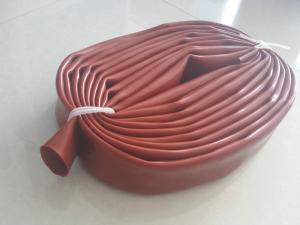 China Red Color Food Grade Silicone Tubing / Belt With High And Low Pressure Resistance on sale