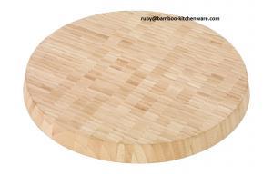 China FDA LFGB Round Bamboo Wood Cutting Board,Bread Bamboo Wood Chopping Board on sale