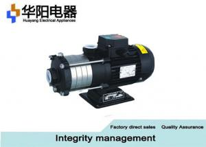 China Black Horizontal Multistage Centrifugal Pump , Water Booster Pump Chlf ( T ) on sale