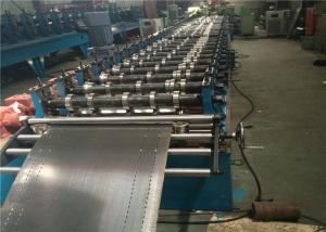 China Automobile Storage Rack Roll Forming Machine , 21.5kw Metal Forming Equipment on sale