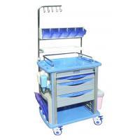 Hospital ABS Nursing Medical Trolleys ARC Handle For Nurse Use , BT-NY001