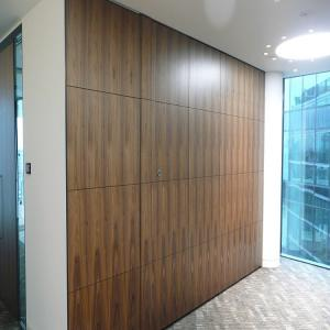 China Customized Movable Soundproof Sliding Folding Partition Wall For Function Room on sale