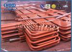 Red Carbon Steel Superheater And Reheater Energy Saving For Power Station