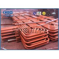 Red color Carbon Steel Superheater And Reheater , Energy Saving For Power Station