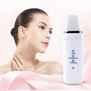 China Meraif New product ideas 2019 professional ultrasonic skin scrubber spatula dead dry skin scrubber facial machine supplier