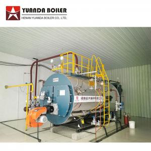 China Industrial Low Pressure Fire Tube 1000kghr Diesel Oil Steam Boiler for Tea Industry on sale