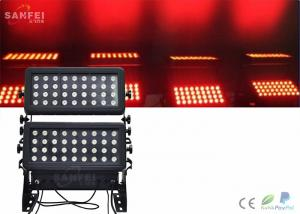 China 750w Effect Stage Lighting / Exterior Led Wall Wash Light 3 In 1 Warm White on sale