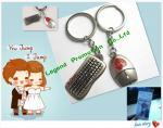 Keychain pour l'amant/trouveur de porte-clés pour l'amant