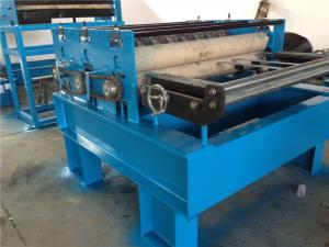 China Sheet Metal Steel Coil Slitting Machine 10 Strips Rubber Roller on sale
