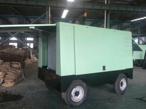 China Energy Saving Portable Diesel Air Compressor Mobile Type 240KW 325HP AC 380V on sale