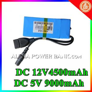 China usb rechargeable battery 12v 9000mah on sale