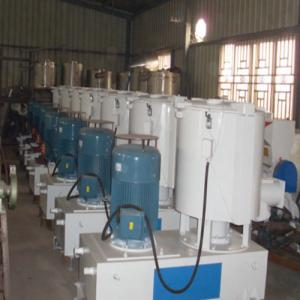 China Low Noise Plastic Raw Material Pvc Mixer Machine 430 / 860rpm High Revolving Speed on sale