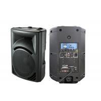 USB SD FM LCD Plastic Cabinet Speaker , Molded Speakers For Music Hall