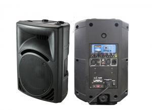 China USB SD FM LCDのプラスチック キャビネットのスピーカー、ミュージック ホールのための形成されたスピーカー on sale