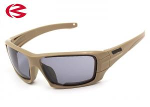 China Anti Glare Military Tactical Sunglasses With Multiple Polycarbonate Lenses on sale