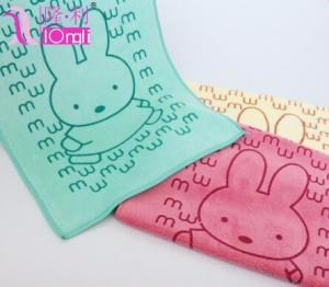 China microfiber set customize printed baby towel on sale