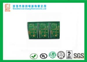 China 8 layer green HDI pcb solder mask white legend  for industry control on sale