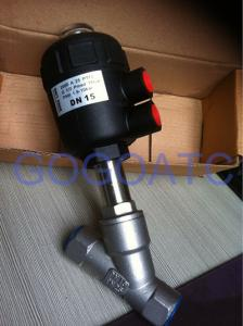 China Angle Seat Valves Air Control Valve on sale
