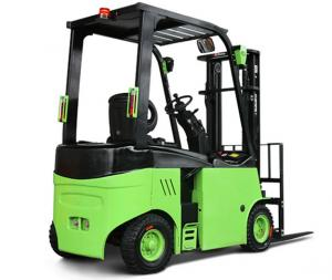 China Narrow Aisle Lithium Battery Forklift Truck , 1.5 / 3.5 Ton Four Wheel Electric Forklift on sale