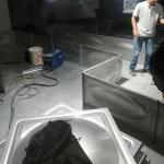 U Channel Ramming Craft 10000M3 SUS316 Square Water Tank