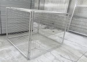 China Micrones de acero galvanizados modificados para requisitos particulares/42 micrones del HDG 14 de la jaula de los desperdicios on sale