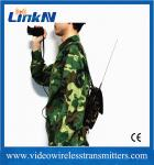 HD Body Worn COFDM Video Transmitter UHF Digital Microwave Low Latency 150ms