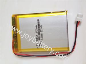 Quality 884765 3.7V 2700mAh lipo battery with PCB,3248150 3.7V 2800mAh battery for tablet PC for sale