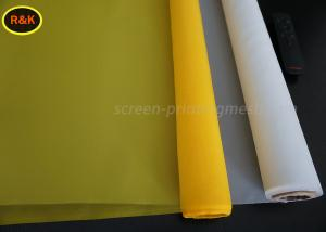 China 80 Micron 110 Screen Printing Mesh Silk Mesh Fabric With SGS / ISO9001 Certificate on sale