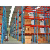 China Blue / Orange Selective Pallet Racking , Adjustable Steel Pallet Racks on sale