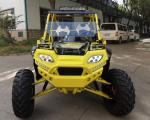 Cool 350cc Four Wheel Utility Vehicle 350cc Single Cylinder Water Cooled Automatic Transmission
