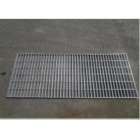 Silver Color Galvanized Metal Grating / Floor Mesh Grating For Workshop Platform