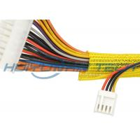 Polyester Self Wrapping Split Braided Sleeving For Cable Jacket Harness