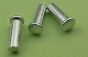China customized 6061 aluminum solid rivets of stainless steel 304 cap on sale