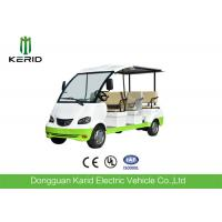 Curtis Controller 48V Electric Sightseeing Car / Electric Passage Car 8 Seaters With Onboard Charger