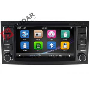 China Digital VW Touch Screen Radio , Volkswagen Touareg DVD Gps Navigation Player on sale