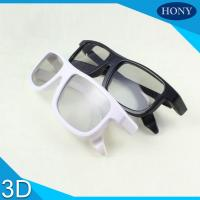 Cinema Reald Volfoni System Use Circular Polarized 3D Glasses Black Blue White Frame