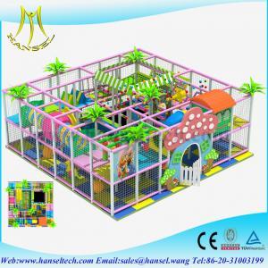 China Hansel kids soft padded playground toy kids soft play soft playground equipment on sale