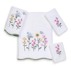 China nice design gift towel with embroidery and lace on sale