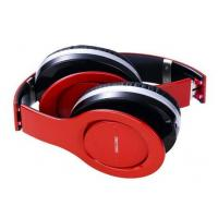 China Red Four Channels Wireless Foldable Bluetooth Headphones With Line In on sale