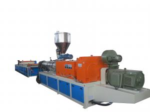 China PVC Durable Plastic Roofing Tiles Extrusion Line Acid-Proof , High Performance on sale