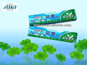 China herbal toothpaste OEM and ODM on sale