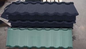 China High temperature resistant waterproof Happiness stone coated steel roof tiles/China hot sale colorful roofing material on sale
