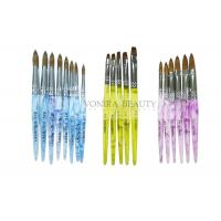 Super Collection Of  Kolinsky Sable Acrylic Nail Brush For Carving And Painting